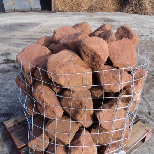 Red Sandstone Rockery