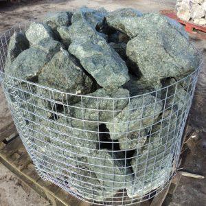 Green Granite Rockery