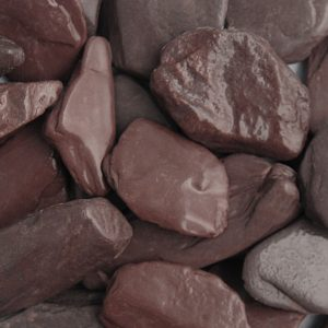 Plum Slate Paddlestones 50-100mm Wet