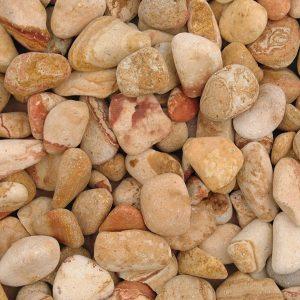 Rainbow Pebbles 20-40mm Wet